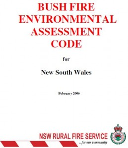 Bush Fire Environmental Assessment Code NSW