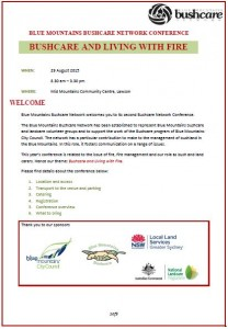 Conference welcome pack Aug p1